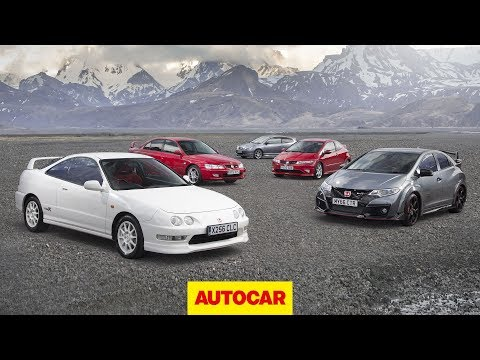 Promoted: 25 years of Honda Type R | Legends road trip with Civic, Integra and Accord