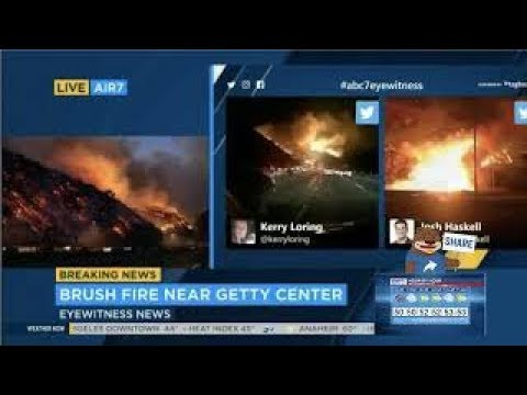 WATCH LIVE Brush fire erupts off southbound I 15 near SR 76 in Fallbrook  12 7 17