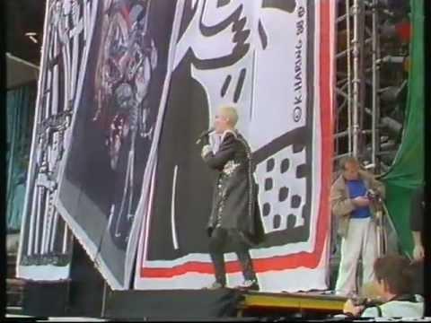 Eurythmics  - Nelson Mandela Concert 1988