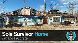 fallout 4 fix sole survivor house