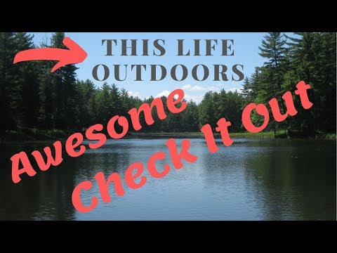 This Life Outdoors - Channel Intro. Pallet Wood Projects, DIY, Camping, Hunting, Fishing, Bushcraft.