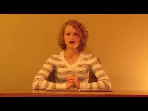 United States Senate Youth Program Scholarship Application-Bryn Welker
