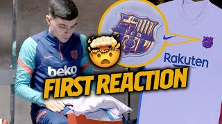 PEDRI's FIRST IMPRESSION of the NEW AWAY KIT (UNBOXING)