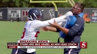 Titans Hire Mike Vrabel As New Head Coach