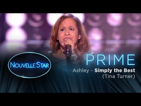 PRIME 02  - ASHLEY - Simply the best (Tina Turner) - Nouvelle Star