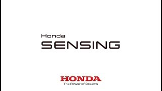 Honda Sensing | Système d