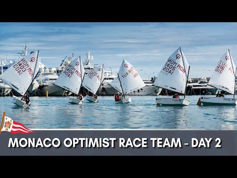 Monaco Optimist Team Race 2018 - Day 2