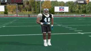Madden NFL 2004 PC -  mini camp exercises 1(touchdown drill)