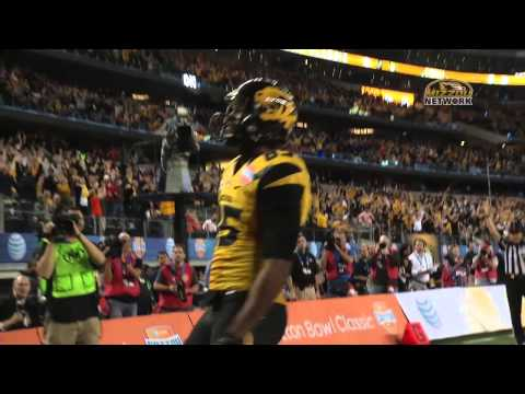 COTTON BOWL: HIGHLIGHT  Marcus Lucas TD makes it 14-7 Mizzou