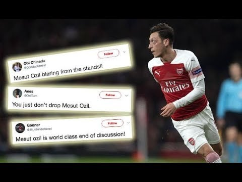 Mesut Ozil sends message to Arsenal fans after latest Unai Emery ...
