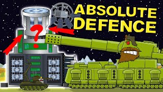 """""""Absolute Defense""""  Cartoons about tanks"""
