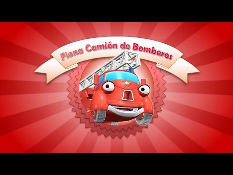Paulie y Fiona - Fiona Camión de Bomberos - Videos cortos para bebés.