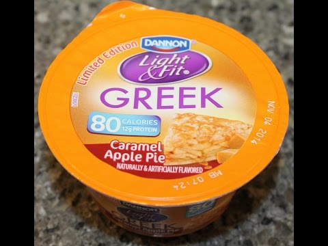 Dannon Light & Fit: Caramel Apple Pie Review from YouTube · Duration:  2 minutes 38 seconds