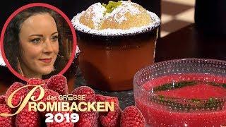 Finale: Luftiges Soufflé mit selbstgemachtem Eis 2/2 | Aufgabe | Das große Promibacken 2019 | SAT.1
