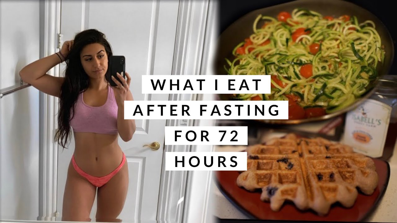 Full Day Of Eating Post 72 Hour Fast