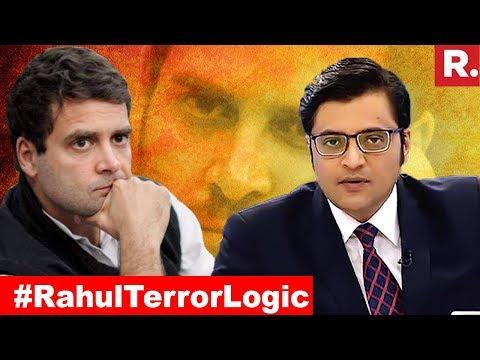 Rahul Gandhi EXPOSES Himself Again | The Debate With Arnab Goswami
