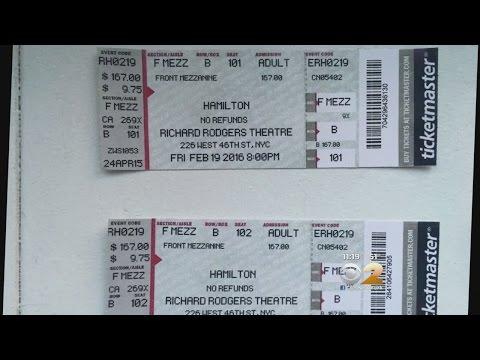 Fake Hamilton Tickets