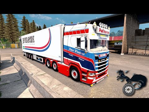 ETS2 1.31 - Scania S500 PWT Thermo Stessens 😎Keep it style😎