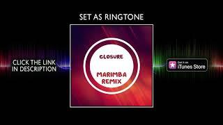 Marimba remix of closure - trevor daniel ringtone for iphone