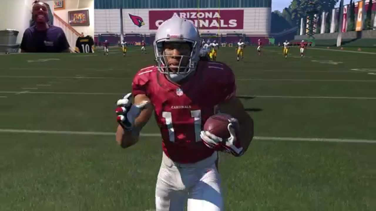 buy popular a7997 31925 Can I Recreate Larry Fitzgerald's 64yd TD Catch from Super Bowl XLIII?  Madden 15 Gameplay