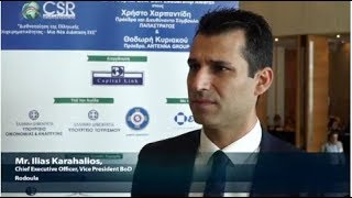 2018 8th Annual Capital Link CSR Forum - Mr. Karahalios Interview