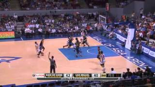 HIGHLIGHTS: San Miguel vs. Rain or Shine (MAY 12, 2015)