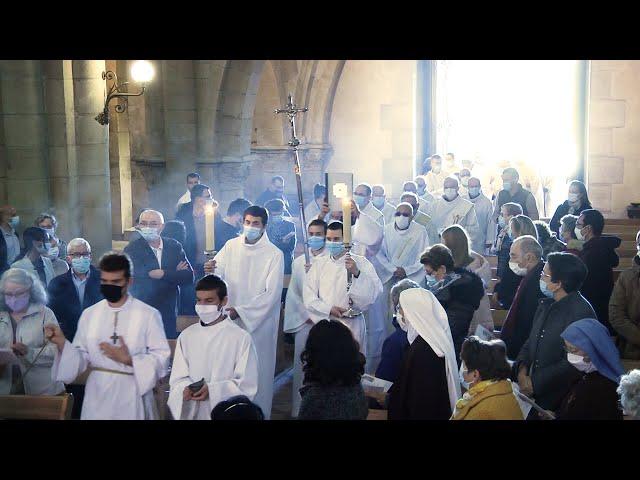 Messe chrismale 2021, procession d'entrée