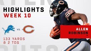 Allen Robinson Highlights vs. Lions