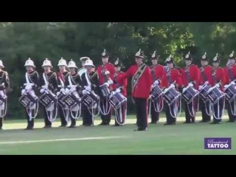 Brentwood Tattoo 2015; Warning Fanfare by Burgess Hill Marching Youth