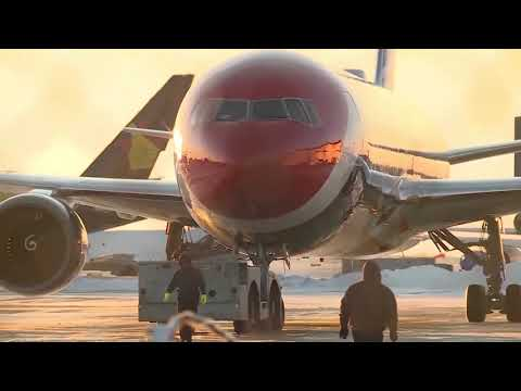 See it! Patriots plane arrives in Kansas City for AFC Championship