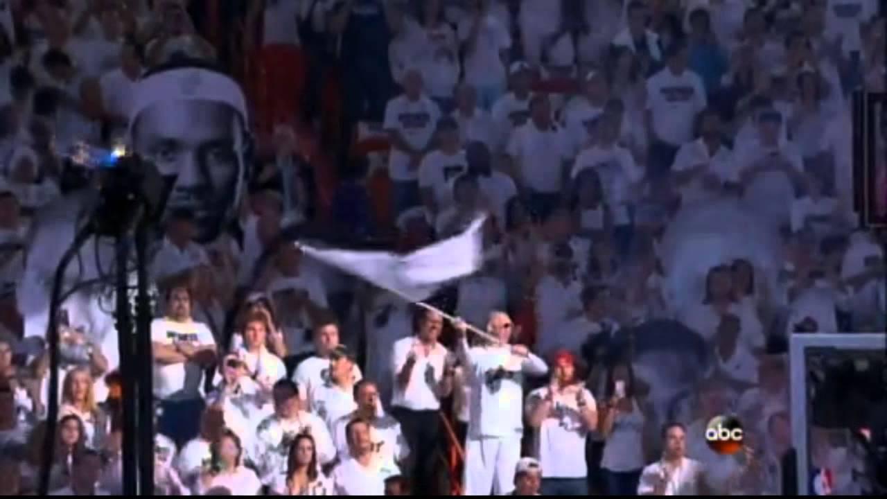 2013 NBA Finals Miami Heat Introduction + Starting Lineup   Doovi