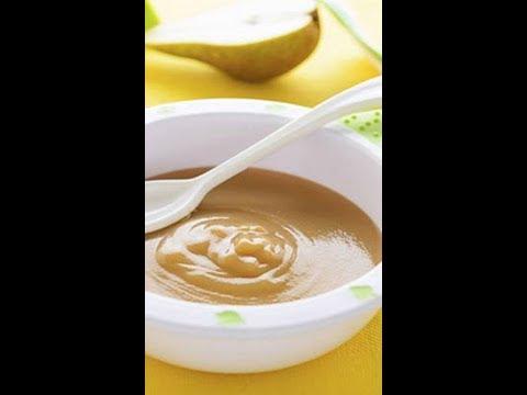 como hacer compota de pera para bebes