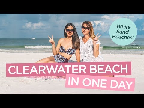 Things To Do at Clearwater Beach in One Day - 2017 VLOG
