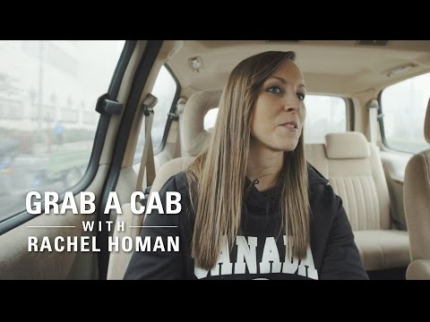 Grab a Cab with... Rachel Homan (Team Canada)
