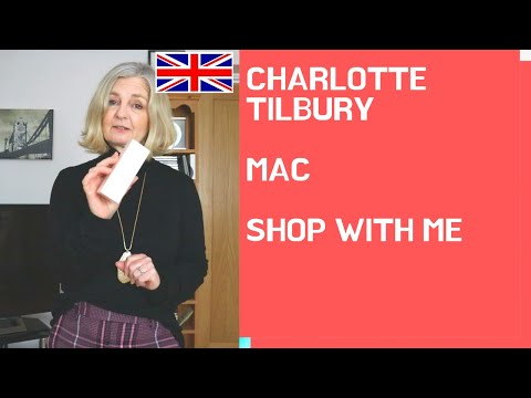 CHARLOTTE TILBURY SHOP With Me Foundation LONDON | MyOver 50 Fashion Life