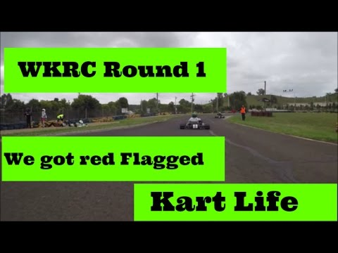WKRC Round 1: #17 Lachlan Ward, We got red flagged 26/2/17