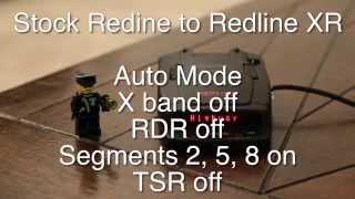 How to convert an Escort Redline into a Redline XR