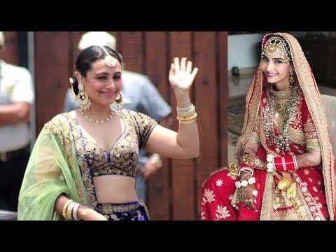 LIVE Rani Mukherjee's GRAND ENTRY At Sonam Kapoor's Wedding Mand
