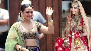 LIVE Rani Mukherjee's GRAND ENTRY At Sonam Kapoor's Wedding Mand thumbnail