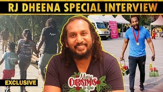 Rj Dheena Opens-up about his family , Views on Social Media , 2020 New Year Resolutions ..?