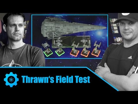 Imperial Raider Campaign Mission R1: Test Flight | X-Wing Miniatures Game Battle Report
