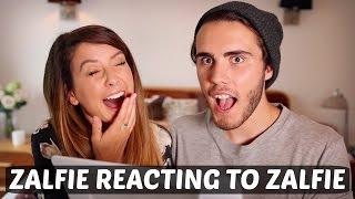 ZALFIE REACTING TO ZALFIE