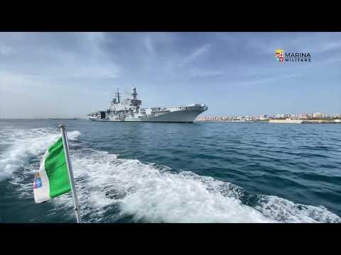 Ready For Operations, la portaerei Cavour rientra a Taranto pronta ad operare con gli F-35B