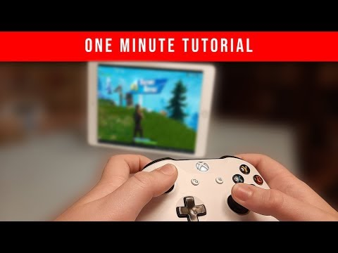 QUICK! How to Connect your Xbox Controller to iOS 13 / iPadOS 13 (2019)