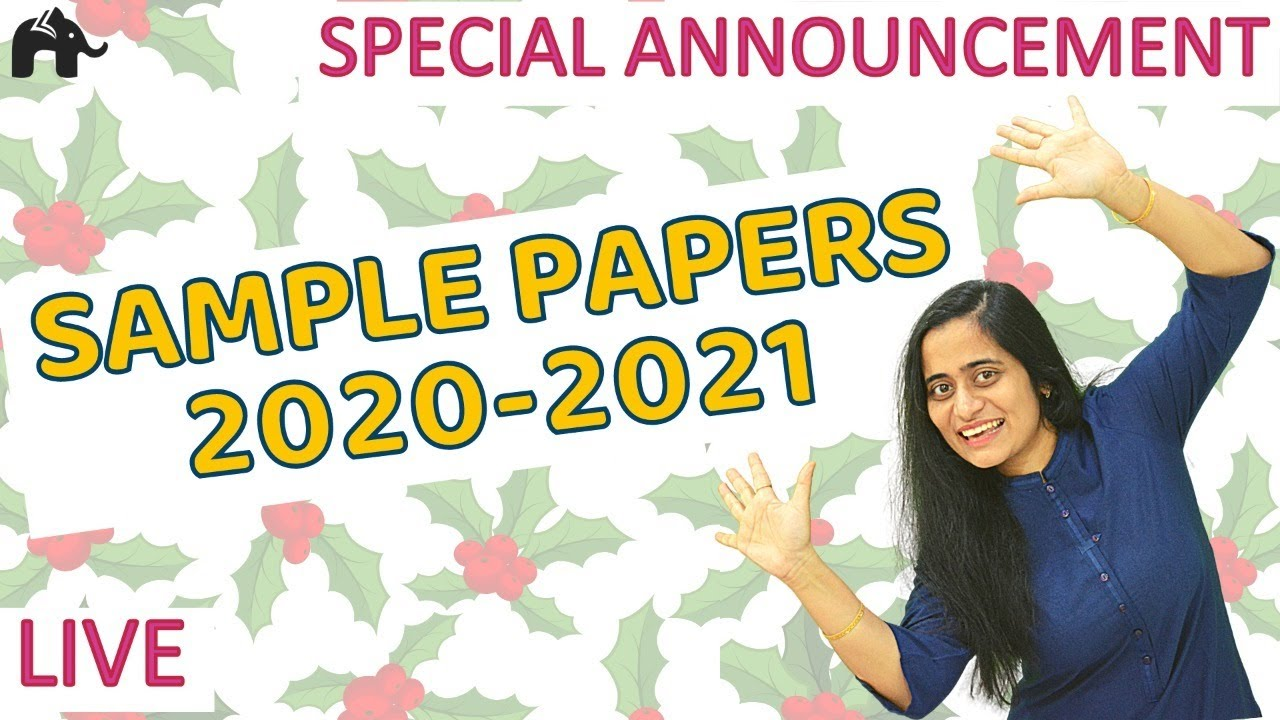 Christmas Special Announcement | Chit Chat with Roshni Mam | Sample Papers | Boards 2021 Special
