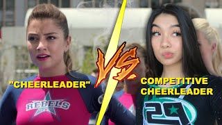 Competetive Cheerleader Watches **BRING IT ON: WORLDWIDE #CHEERSMACK**