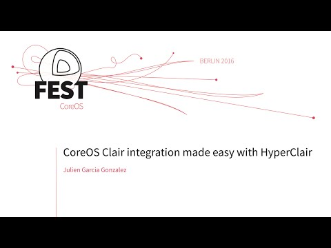 CoreOS Clair integration made easy with HyperClair
