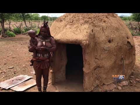 Himba lady.. People of Namibia