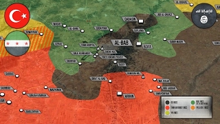 8 февраля 2017. Военная обстановка в Сирии. Турки штурмуют Эль-Баб. Русский перевод.