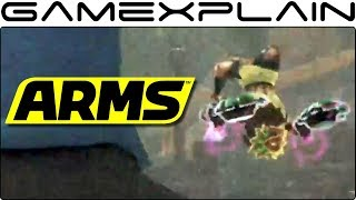 A Slightly Better Look at the New ARMS DLC Character (Emphasis on